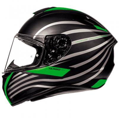 Мотошлем Интеграл MT Targo Doppler Black/Green ( M)