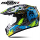 Мотошлем Dual-sport Nenki MX-310 BRIGHT BLACK YELLOW L