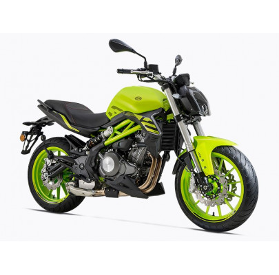 Benelli TNT 302S ABS green